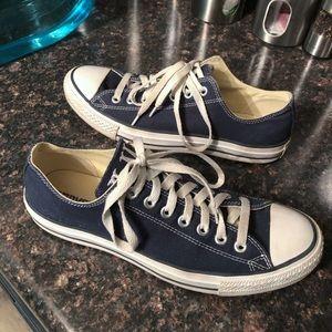 Converse blue sneakers size 8.5 men's
